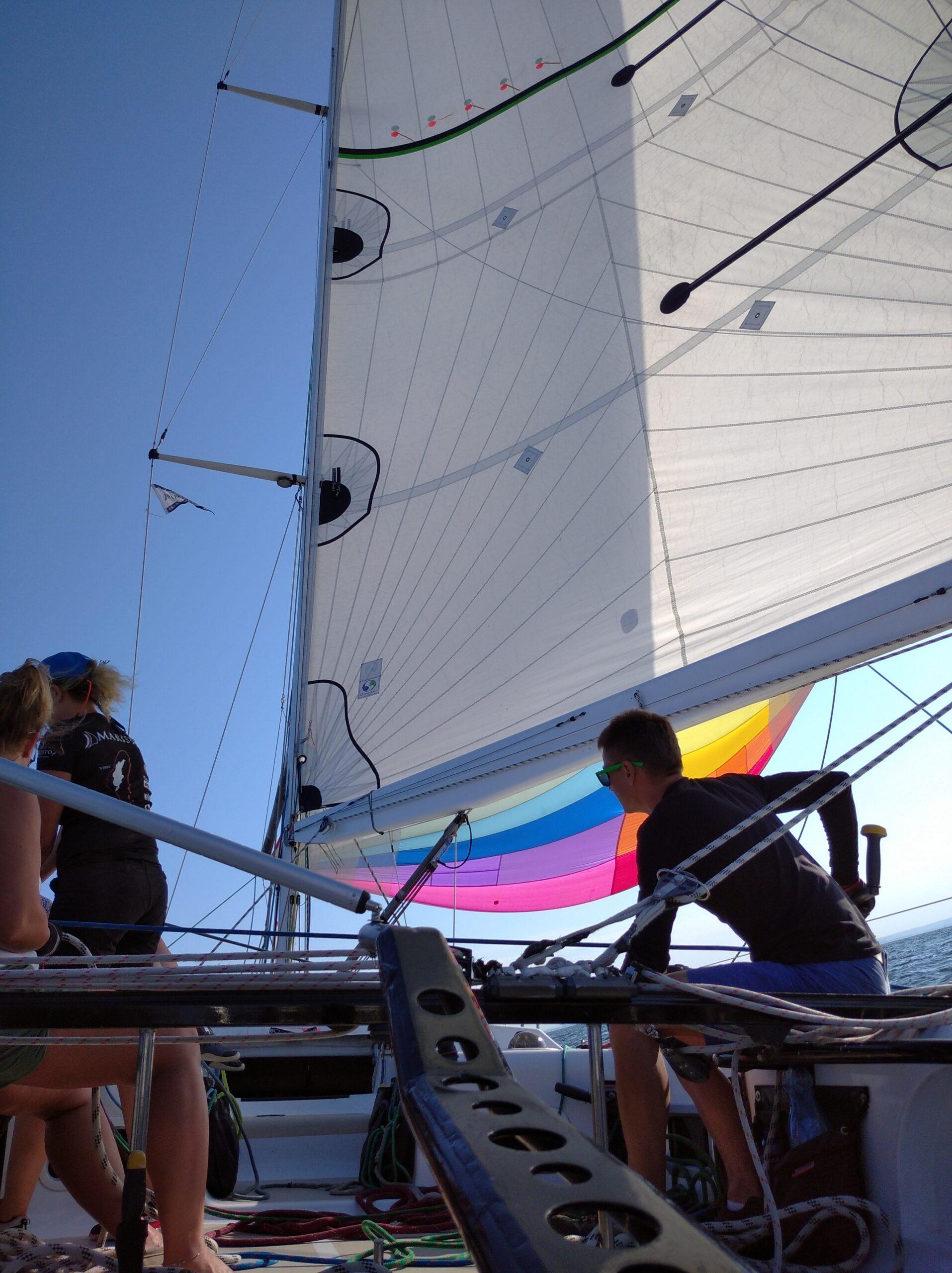 Trening regatowy i udział w regatach o Puchar Mariny Gdańsk